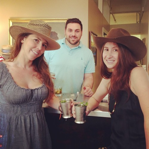 Mint julep bourbon time at Stetson #bourbon #mintjulep #stetson #cowboyhat #igers #iphonesia #instanyc by xiaolitan http://bit.ly/10jOFIX InstaNYC is a collection of Instagram photos tagged with #instanyc. Follow us on Twitter at @insta_nyc.