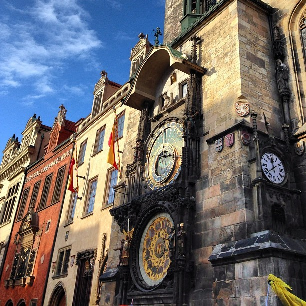 instagram:   Prague's Astronomical Clock