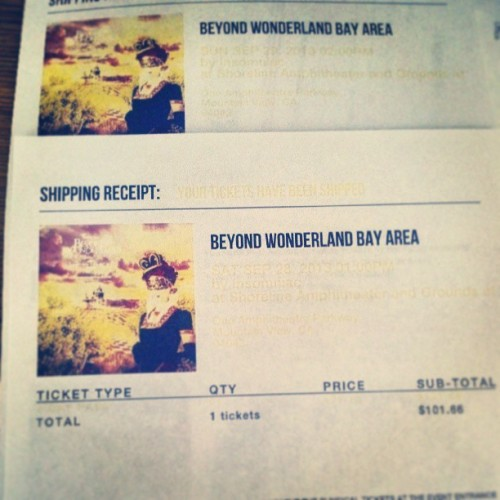 @anna_graace @aricee_ got mine toooo!! Who else is going?? #rave #beyondwonderland #fuckyeah