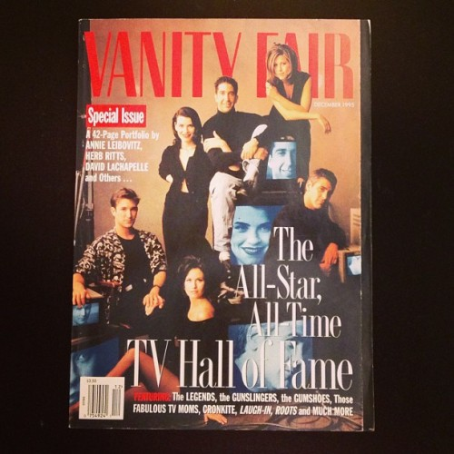 The stars of E.R. and Friends on the cover of our 1995 issue. #classiccovers
