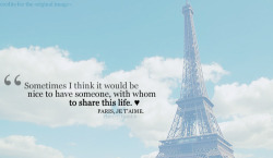 quote-book:  Paris, Je T'aime | via.