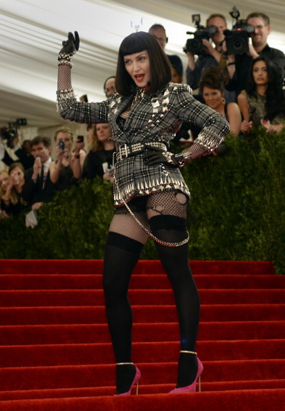 juicycouture:  Madonna, Madonna, Madonna (in Givenchy).