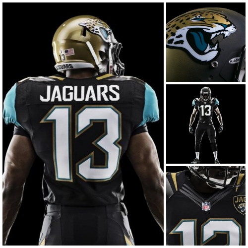 The Jaguars unveiled their new look today.  See more photos at Big Cat Country  http://sbn.to/Y1QD4V and via Nike Football http://swoo.sh/XUeqSd