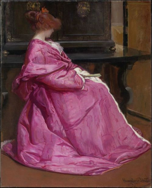 Le domino rose - John Humphreys Johnston 1895