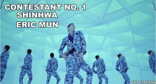yoshitartarushumor-rofl-bot:  DIVA BATTLE ERIC MUN VS JUNG YUNHO  BOYS I SEE YOUR BELLIES…AND TAKE OFF THOSE TACKY CLOTHES….