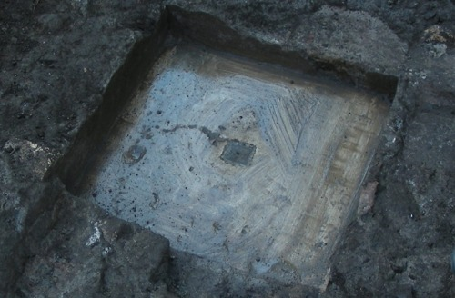 discoverynews:  Roman Marker Used to Measure Earth Found Italian researchers have unearthed a marble benchmark which was once used to measure the shape of Earth in the 19th century. Called Benchmark B, the marker was found near the town of Frattocchie along one of the earliest Roman roads which links the Eternal City to the southern city of Brindisi. Placed there by Father Angelo Secchi (1818-1878), a pioneer of astrophysics, the marker consisted of a small travertine slab with a metallic plate in the middle. The plate featured a hole at its center. Read more.