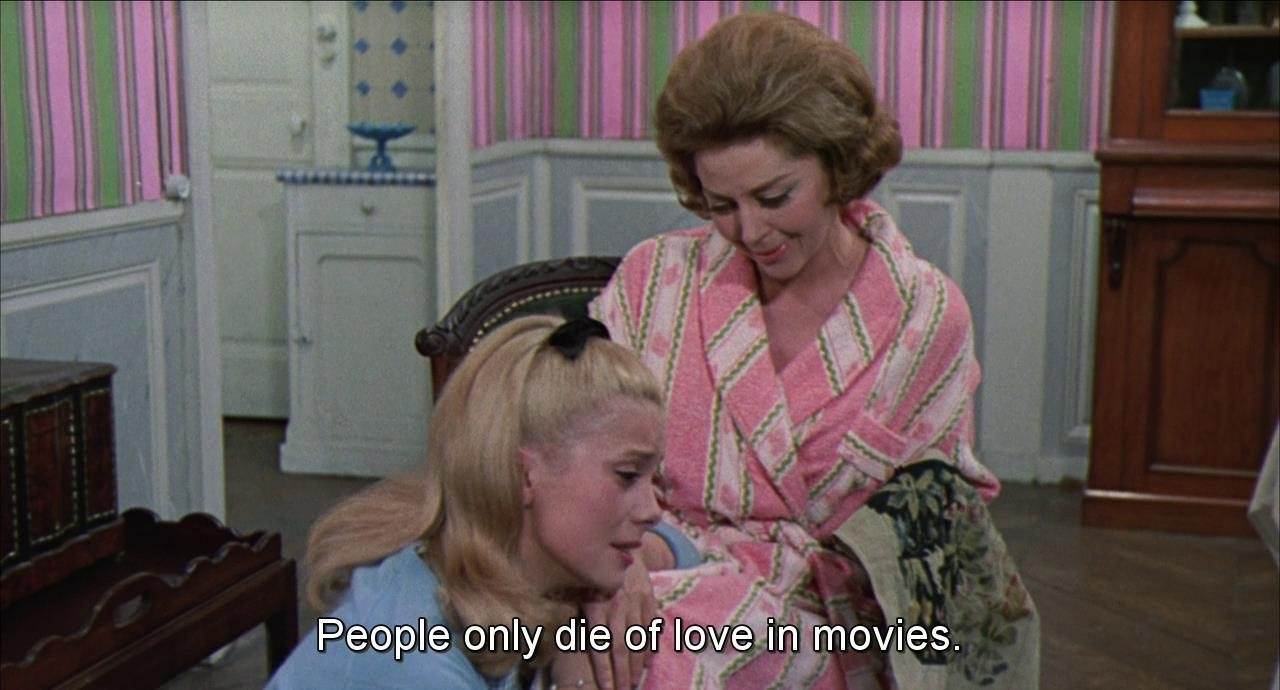 PEOPLE ONLY DIE OF LOVE IN MOVIES