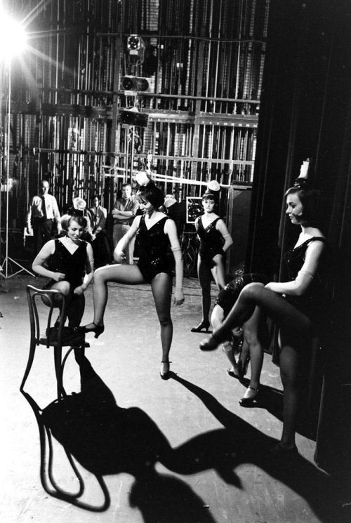 life:  Not originally published in LIFE. Rockettes in rehearsal, 1964. See more photos here.