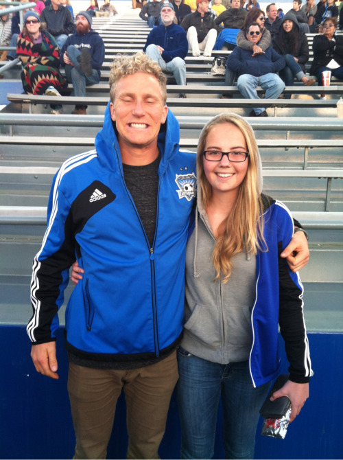 all-soccer:  LOOK WHO JUST MET STEVEN LENHART WOOOOO!!!!