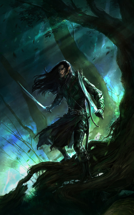 the-clockmakers-daughter:  artwallawesome:  Warden of the Wild by *anndr  ༺ Can You Handle a Twisted Fairy Tale? ༻