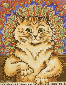 electripipedream:  Louis Wain1860-1939