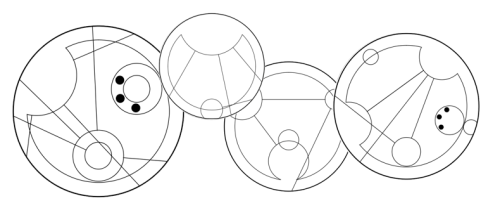 """Miles is going places"" in Gallifreyan, my next tattoo as inspired by Eli."