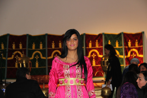 Tunisian beauty, morrocan dress, by Naima Aoujil & girl by Me @ Festival des nuits d'orient