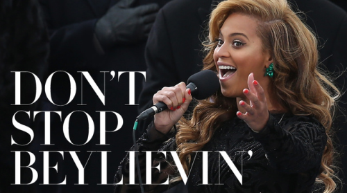 hellogiggles:   DON'T STOP BEYLIEVIN' AND 6 OTHER HEADLINES COMING OUT OF THE BEYONCE LIP-SYNCING 'SCANDAL' by Steven Folkins http://bit.ly/XY0XXc   I made some really terrible great photoshops here that you should probably take 20 seconds to look at. Thank you.