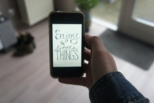 usethewords:  enjoy the little things.