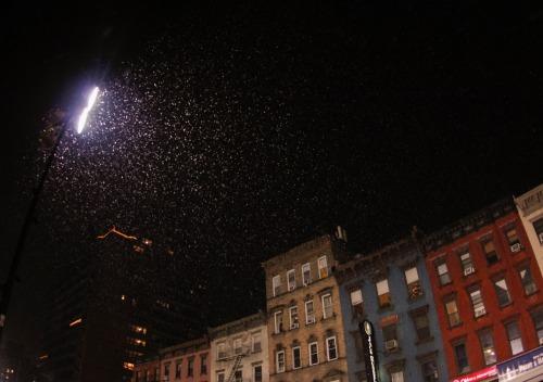 photography blog photography my photography glow snow New York slow shutter