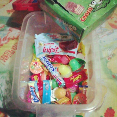 My Treasure Chest of sweets and more……