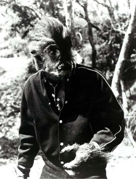 Michael Landon in  I Was A Teenage Werewolf (1957)