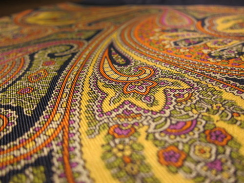 Amazing paisley pocket squares from new London men's pop-up store 52 Artillery Lane, opening Friday