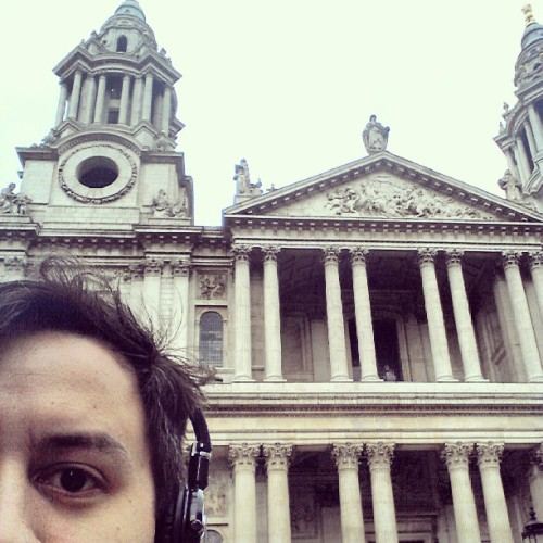 Hey there St Paul's #selfie #StPauls #London  (at St Paul's Cathedral)