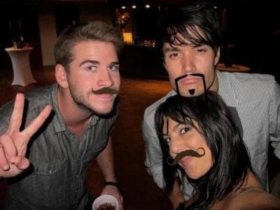 "mellarksloaves:  This is what you get when you Google ""Liam Hemsworth mustache"", apparently."