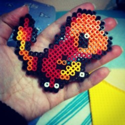 #perlerbeads #charmander #pokemon #anime #cartoons #crafts #handmade