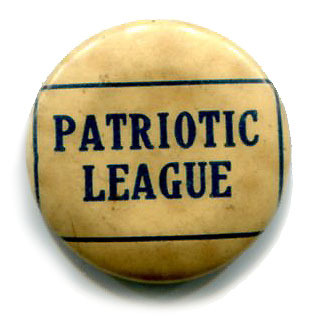 Patriotic Leagues existed all over the country during the First World War, and were responsible for various organized war effort activities ranging from financial collections, to Red Cross work, to those now classic WWI propaganda posters. While being very common in their day there is surprising little out there on the internet about their form and structure. I managed to find one document from the University of Colorado that gives a glimpse into their function. It appears that each group was responsible for their own creation and mission with little oversight from any official agency. This is most likely the reason why it is so hard to find any background on them. So whatever they did in Chicago, one of my ancestors was apparently involved.