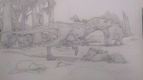 Hey look unfinished dinosaurs