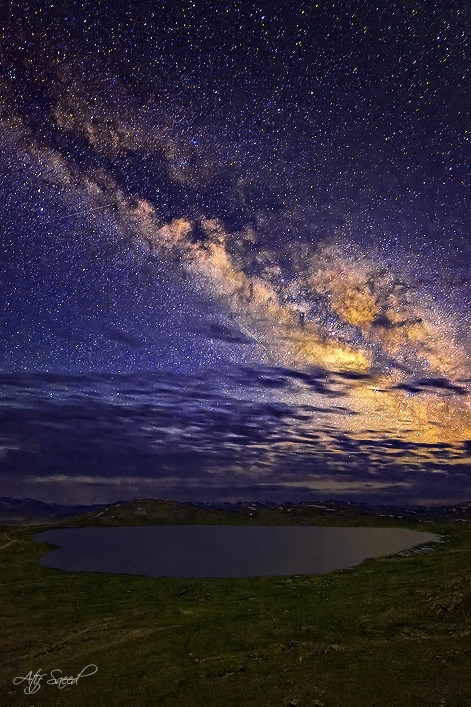 platea:  Heart of Universe by M Atif Saeed