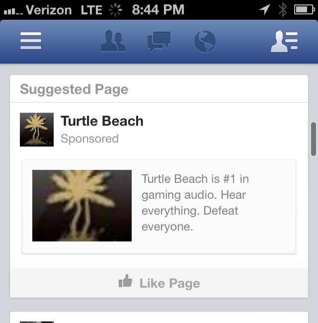 Can't tell if facebooks social media profiling works or if just master at trolling me.