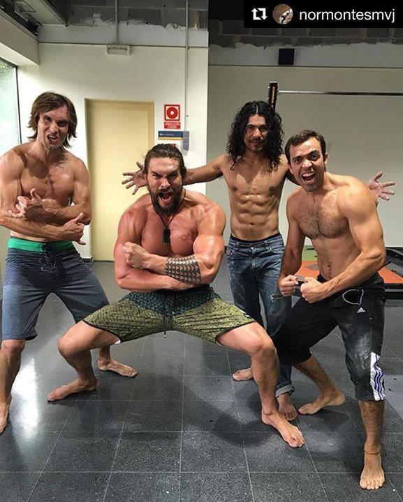 Jason Momoa Workout: Jason Momoa: Hawaiian Jesus