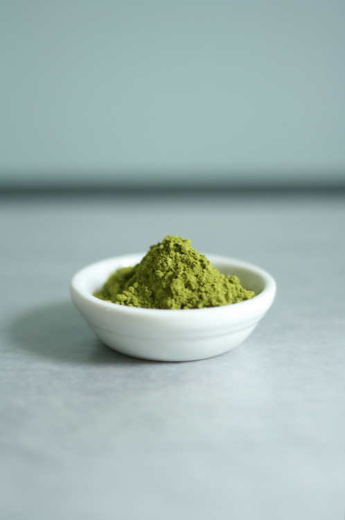 readcereal:  Matcha - powdered green tea. Photo by Butter me up Brooklyn