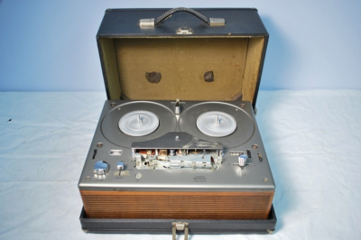 wfmu:  Alan Lomax's Tandberg Model Series 92F Tape Recorder for Sale on Ebay