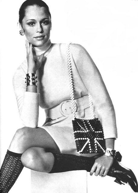 Lauren Hutton photographed by Irving Penn for Vogue US, September 1968.