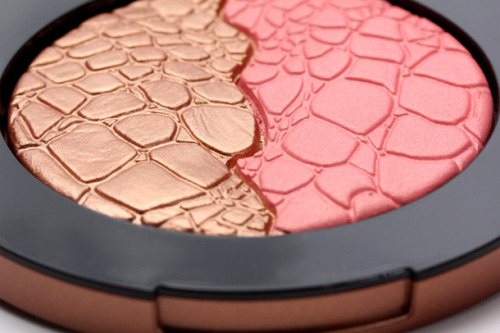 glamourzombie:  Sonia Kashuk Chic Luminosity Bronzer Blush in Glisten