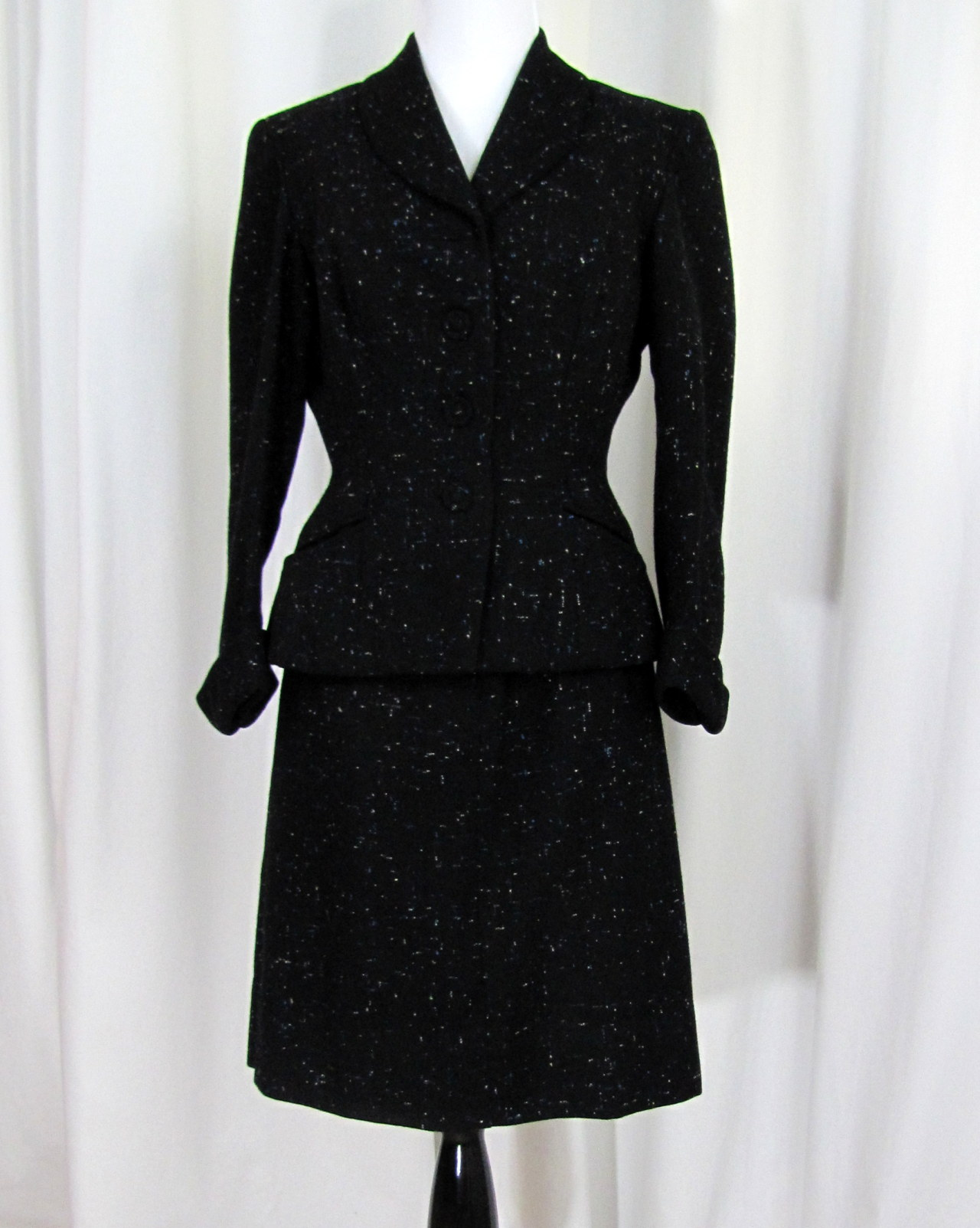 Now Available Vintage Suit   Custom Tailored Wool Suit   1960s   Small