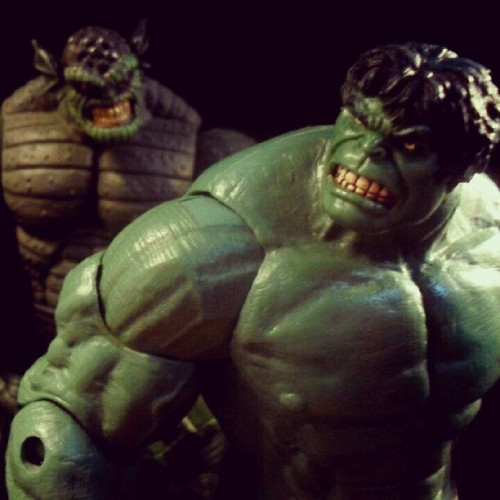 Hulk hate surprise buttsex attack!! #acba #articulatedcomicbookart