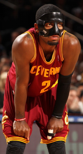 Pic: Introducing Cavaliers PG Kyrie Irving, The Dark Knight.