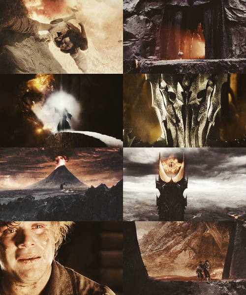 ohdeartonks:  Lord of the Rings Meme: Four Colours [4/4] → Orange
