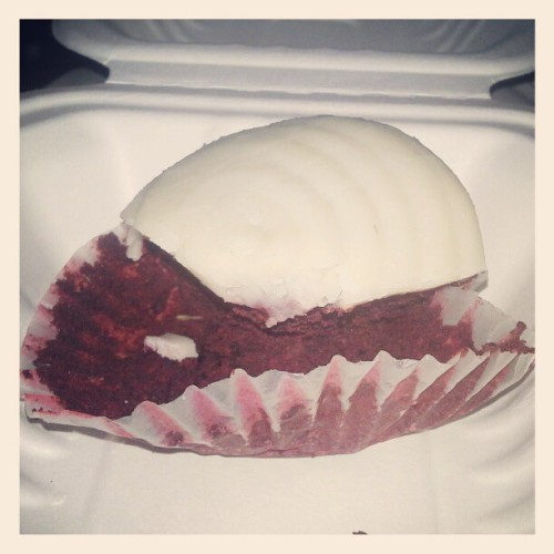 #GlutenFree #Vegan Red velvet cupcake. #Seattle