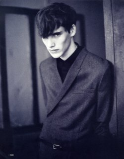 garcode:  Boris Martin in Dior Homme FW10 ph by unknown for The Block Magazine