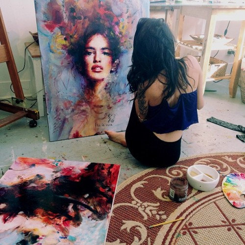 mscherrybabyy:  wow pretty painting