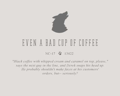 Even a Bad Cup of Coffee (Is Better Than No Coffee at All)