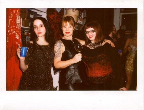 mollycrabapple:  New Years Eve.  Polaroid by Steve Prue  My 2013 started on a high note.