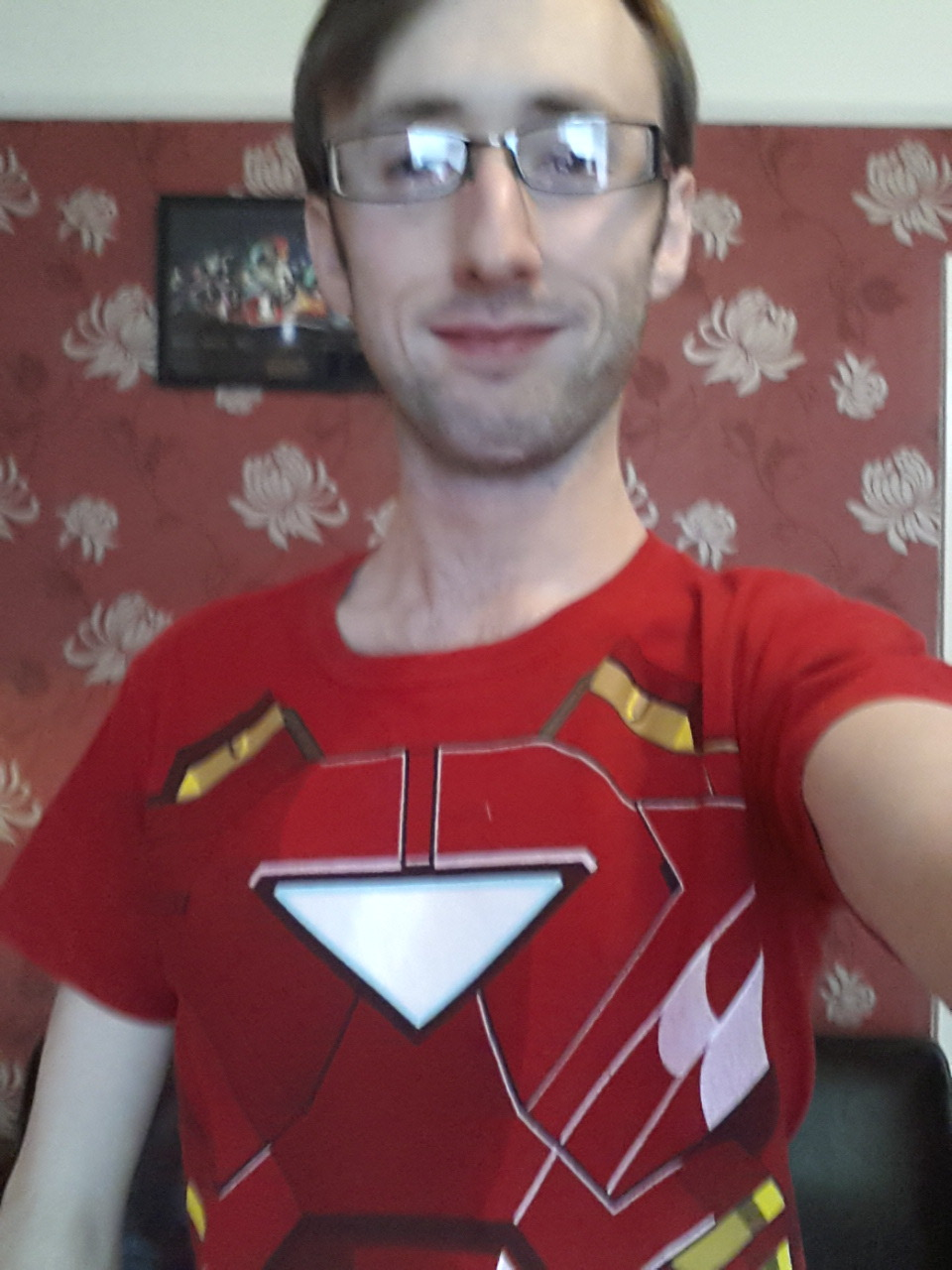 Iron Man 3 today. T-Shirt seemed somewhat appropriate