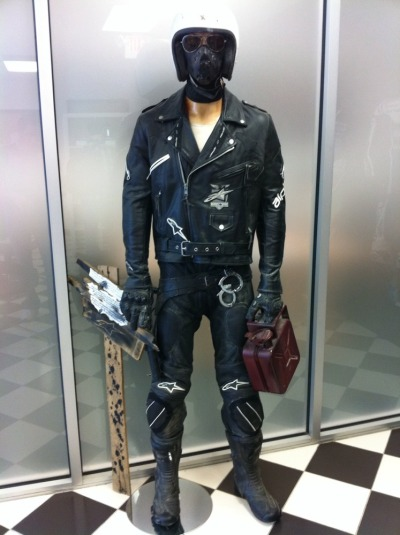 Alpinestars Mad Max style… at their US headquarters.