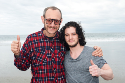 terrysdiary:  Me and Kit Harington