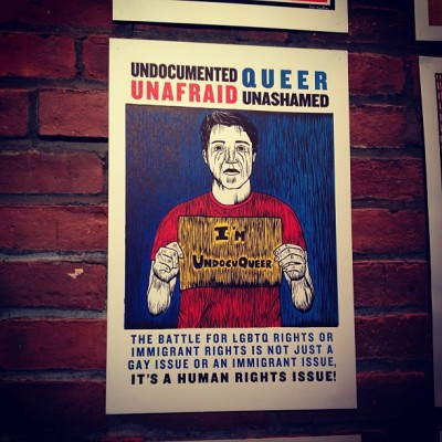 foreverthesoniag:  Go @felipe. #undocumentednyc #art