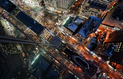 Navid Baraty's Stunning NYC Rooftop Photos Shot at Night