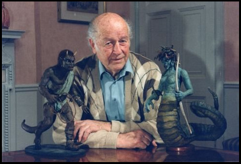 Ray Harryhausen was one of those artists who I honestly did not know by name until recently, but profoundly changed my life and augmented my childhood with monsters and adventure: Medusa, Kali, Calibos, Cyclops, Hydra, skeleton armies, and all other initial kindling for my passion for mythology…  May this stop motion pioneer and visual effects master rest in peace.